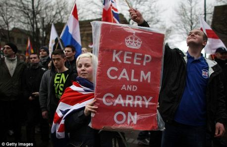 """Keep It Tribal"" : English Defence League True Colours"