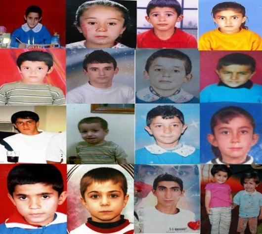This picture is about Kurdish children killed by Turkish army: -Turkish government & al-Qaeda affiliated groups are terrorist organizations working under the same Western Intelligence orders & Zionist project
