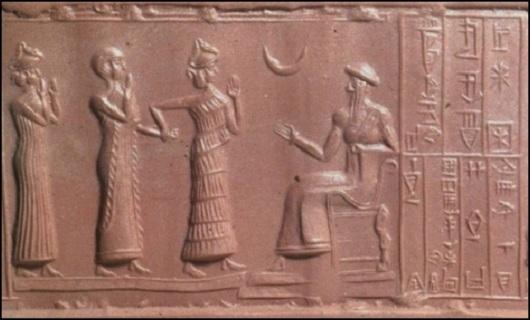 al-il'ah the pagan moon god