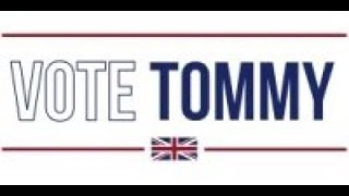 Vote Tommy Robinson for MEP